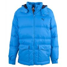 PUMA Light Blue Padded Quilted Jacket Size XL