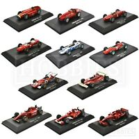 Ferrari F1 Cars 1/43 Scale Diecast Model Fangio Schumacher Massa Atlas Editions