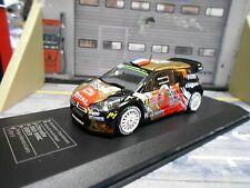 CITROEN DS3 WRC Rallye Monte Carlo 2015 #18 Chardonnet BRM DCC IXO SP 1:43