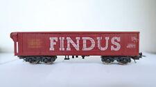 LIMA HO/DC rolldach voiture FINDUS SNCF (cq/156-8r2/12)
