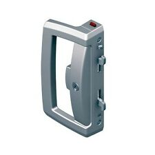 Lockwood Onyx Sliding Patio Door Lock 9A1A2/5PSIL Slim Outer Pull Silver