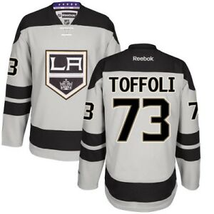 #73 Tyler Toffoli Los Angeles KINGS RBK NHL Premier Jersey 100% Original