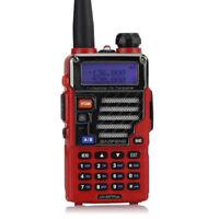 BaoFeng UV-5R Plus Qualette + Earpiece UHF/VHF Transceptor Emisora Walkie Talkie