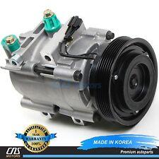 NEW A/C Compressor w/ Clutch 58185 for 99-06 Hyundai Sonata Kia Optima 2.5L 2.7L
