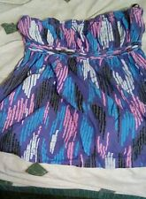 Hurley  halter  top. Purple, pink.  Size M