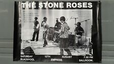 More details for stone roses poster blackpool empress ballroom saturday 12th august