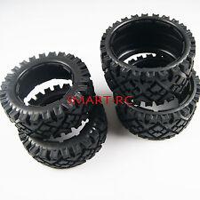 2 pcs Front + 2 pcs Rear All Terrain Tire Tyre fit HPI KM Baja 5B SS Rovan