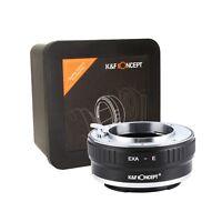 K&F Concept Objektivadapter für Mount Exakta Objektiv auf Sony E NEX Kamera Body