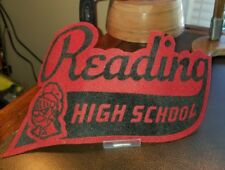 VINTAGE MASCOT READING HIGH SCHOOL VARSITY PATCH
