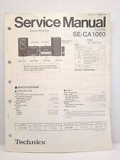 Technics Original Service Manual SE-CA1060 Amplifier