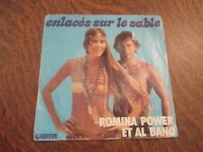 45 tours ROMINA POWER ET AL BANO enlaces sur le sable