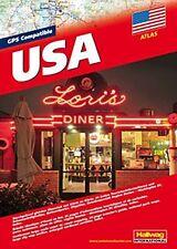 2012 GPS Compatible USA Atlas, by Hallwag