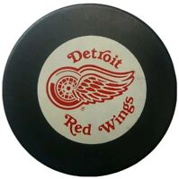 DETROIT RED WINGS ZIEGLER GAME PUCK NHL TRENCH GENERAL TIRE  CANADA VINTAGE