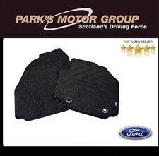 Ford S-Max MPV Black Carpet Front Mats Genuine 1383091