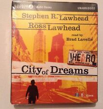 Navpress Audio Books Unabridged City of Dreams Read by Brad Lavelle 8 Discs New