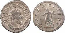 Empire Romain, Postume, antoninien, 262 Trèves, HERC PACIFERO, Hercule - 24