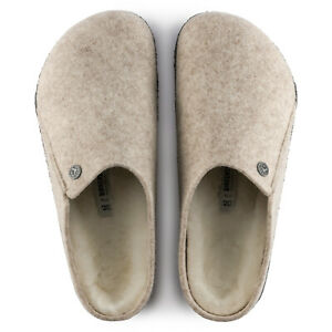 Men Birkenstock Zermatt Wool Shearling Slip On Shoes Comfort Clogs NEW