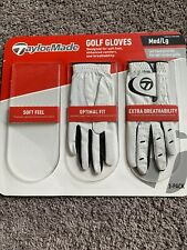 Taylor Made Med/Lg Left Hand Glove Two Gloves In Pack