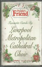 PEOPLE'S FRIEND ~ FAVOURITE CAROLS BY LIVERPOOL METRO CHOIR ~ CASSETTE TAPES