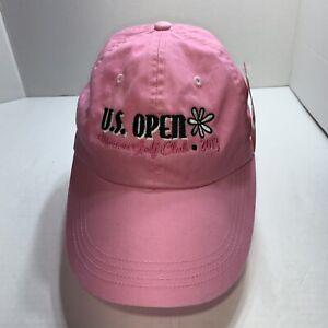 New US OPEN Merion 2013 Pink GOLF Hat Adjustable Women's Cap