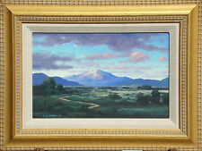 Gary Steffen Untitled Mountain Landscape Hand Signed Original Oil Painting OBO