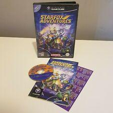 Nintendo Gamecube Juego-Starfox Adventures-Raro Retro-PAL en muy buena condición Gratis Reino Unido Pp