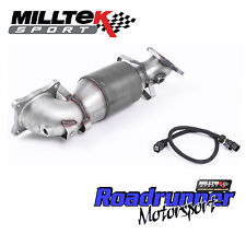 "Milltek SSXHO230 Honda Civic Type R FK2 Exhaust 3"" Cast Downpipe Sports Cat HJS"