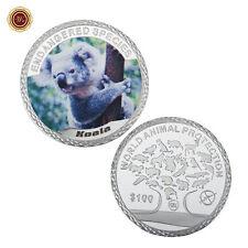 WR Australia Koala 1oz .999 Silver Bullion Coin Endangered Species Collect Gifts