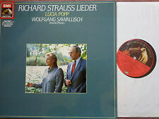 EMI 2702551  Popp & Sawallisch of R. Strauss Lieder Germany STEREO NM
