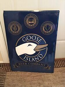 "Goose Island Beer Company 18""x24"" Metal Sign"