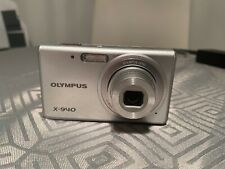 Silver  Olympus X-940 Digital Camera & Carrying Case Photography Camera Photos