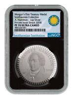 1903 Morgan Treasury 1 oz Silver PF Pattern NGC PF70 UC Blk Smithsonian SKU54456