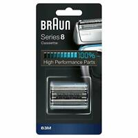 Braun Series 8 83M Shaver Foil and Cutter Cassette 8370cc - 8320s