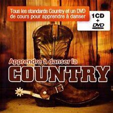 28235//APPRENDRE A DANSER LA COUNTRY 1 CD + DVD NEUF SOUS BLISTER