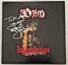 "Autographed Dio ""Intermission"" Vinyl Ronnie James Dio & Vinny Appice"
