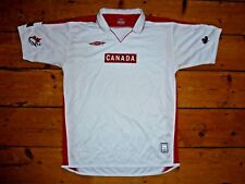 Canada Soccer Size: L Football shirt Soccer Jersey Maglia Maillot Porté