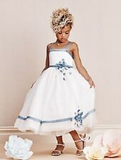 ALFRED ANGELO 6667 Flower Girl Dress Size/Age 6 Ivory/Once upon a Time