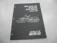 Arctic Cat 1988 Wildcat 650 Snowmobile Illustrated Parts Manual