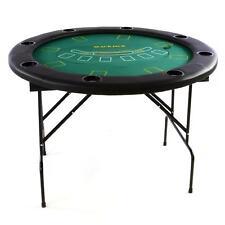 Casinò-Set tavolo da poker 4in1: Roulette Black jack Dadi Poker Tondo 120cm 100 Chip