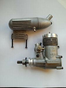 Rare Tunder Tiger GP .25 Glow Engine