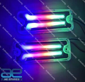 For Suzuki Samurai SJ410 SJ413 Front & Rear Indicators LED Light Set 12v ECs