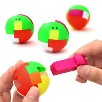2pcs baby toys intelligence colorful puzzle assembly ball kids game funny toysNT