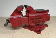 Vintage Columbian Swivel Anvil 3 12 Jaw Bench Vise D43 12 M5
