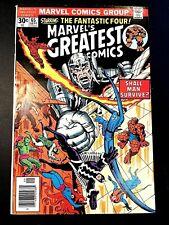 MARVEL'S GREATEST COMICS 65 (9/76 7.0 non-CGC) NR! LEE/KIRBY REPRINT! INHUMANS!