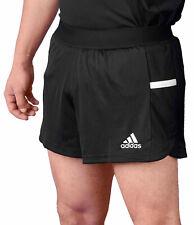 Adidas T19 Run Shorts Männer schwarz/weiß, 100 % recyceltes Polyester.