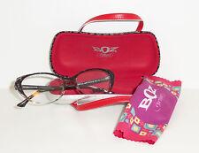 BOZ by J.F. Rey Eyeglasses Rebelle 0505 Black / Flower 53/18 140