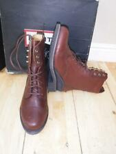 NEW KELSO HUNTERS BROWN LEATHER HORSE RIDING jodphurs ANKLE BOOTS 3