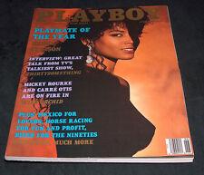 Playboy Revista Junio 1990 Pmoy Renee Tenison Centerfold PLAYMATE Bonnie Marino