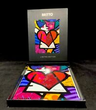 Romero Britto Smart Hard Cover Case for iPad 2 Limited Edition Girl In Love Box!