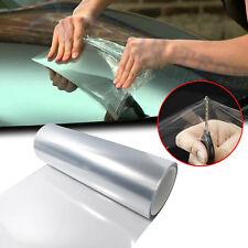 "12"" x 48"" Clear Bra Headlight Bumper Hood Paint Protection Film Vinyl Wrap Sheet"